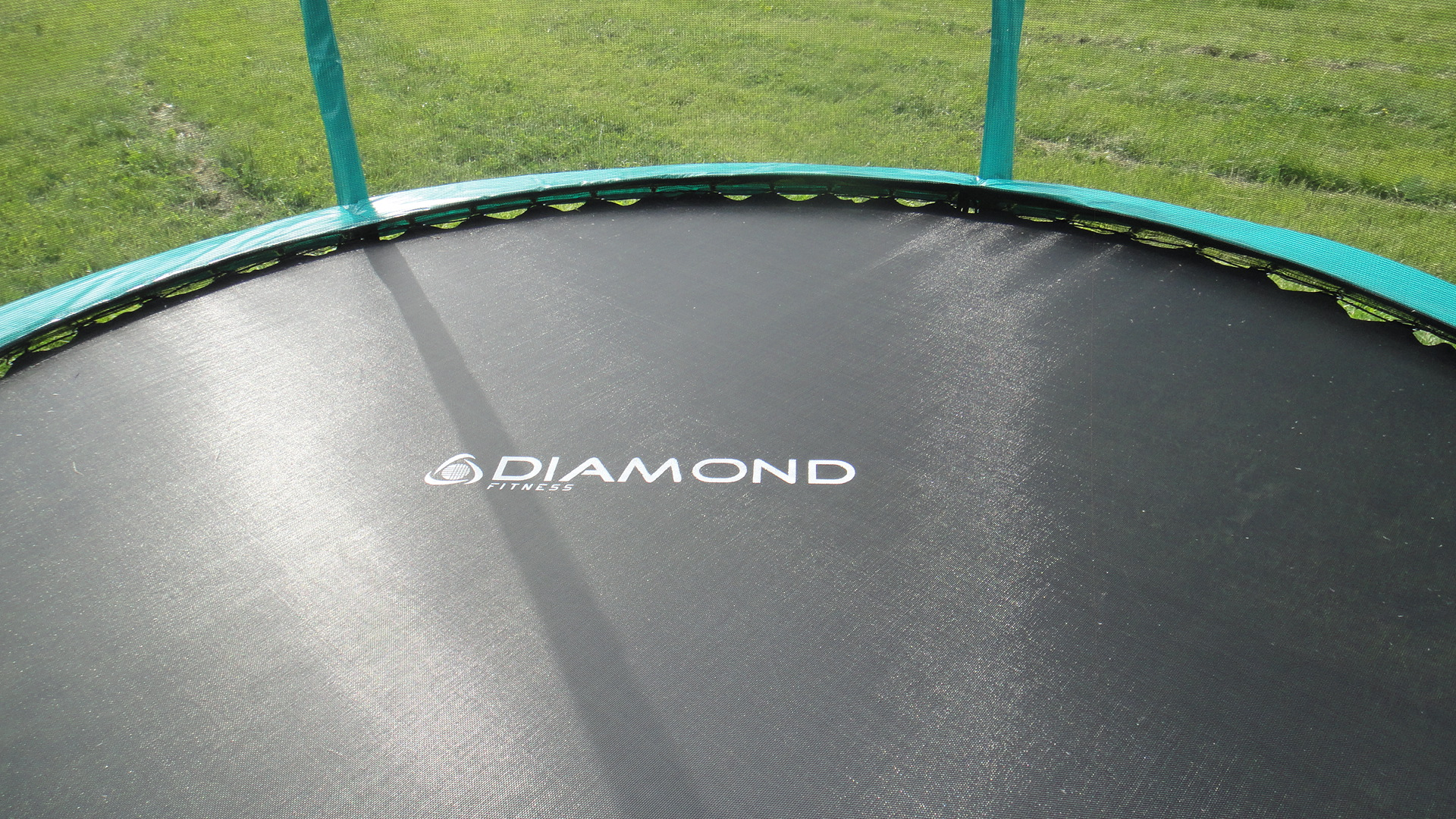 Батут Diamond Fitness Black Edition 8 ft. (244 см) комплект